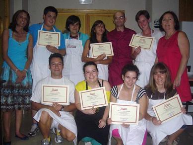 curso de cocina en navaluenga