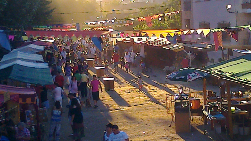 mercado medieval en navaluenga